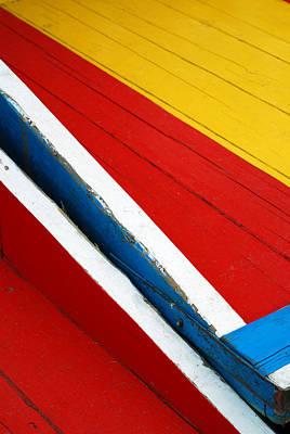 Xochimilco Boat Abstract 1 Art Print by Skip Hunt