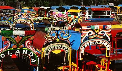 Photograph - Xochimilco by Juergen Weiss