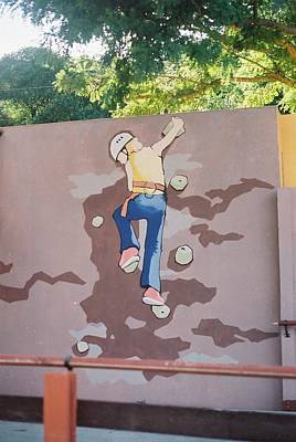 Sports Murals Painting - Xpark by Stephen Wintershaw