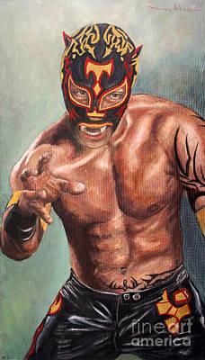 Xtrem Tiger Art Print by Nancy Almazan