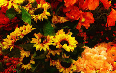 Photograph - Rise And Shine Xtreme Floral 22 by Spyder Webb