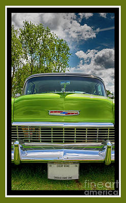 Digital Art - Chevrolet 24 by Wendy Wilton