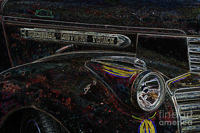 Digital Art - Gmc Series 4 by Wendy Wilton