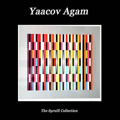 Mixed Media - Yaacov Agam by Everett Spruill