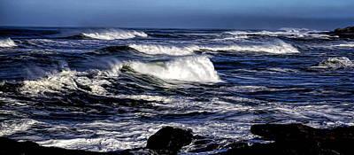 Photograph - Yachats Bay by Nick Kloepping