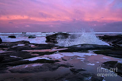Photograph - Yachats Sunrise by Sonya Lang