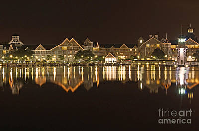 Yacht Club Villas - Walt Disney World Art Print