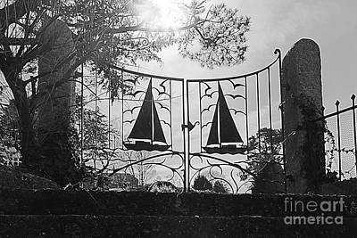 Photograph - Yacht Gates by Terri Waters