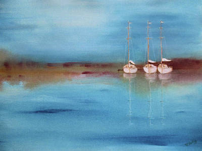 Painting - Yacht Haven By V.kelly by Valerie Anne Kelly