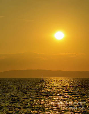 Photograph - Yacht On Belfast Lough by Jim Orr