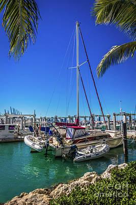 Photograph - Miami Beach Marina 4501 by Carlos Diaz