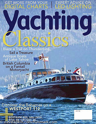 Photograph - Yachting Cover by Steven Lapkin