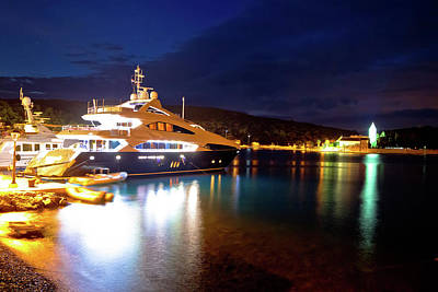 Photograph - Yachting Destination Of Vis Island Evening View by Brch Photography