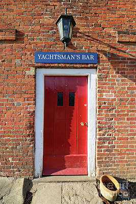 Photograph - Yachtmans Bar Bucklers Hard Village Uk by Julia Gavin