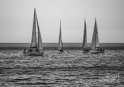 Photograph - Yachts by Jim Orr