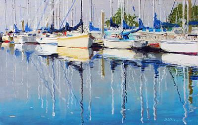 Yachts Art Print