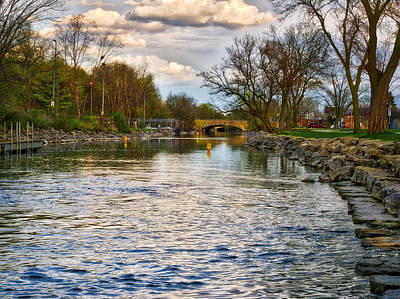 Yahara River, Madison, Wi Print by Steven Ralser
