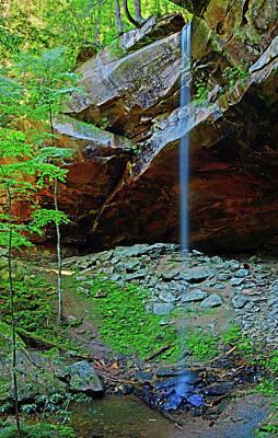 Photograph - Yahoo Falls by Ben Prepelka