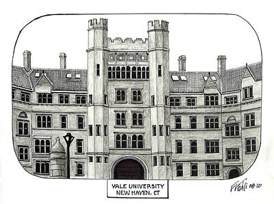 Drawing - Yale by Frederic Kohli