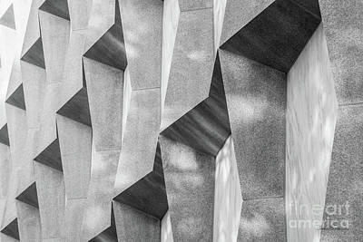 Photograph - Yale University Beinecke Library Detail by University Icons