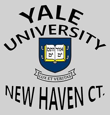 Yale University New Haven Connecticut  Art Print
