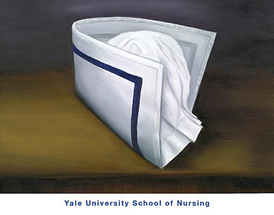 Painting - Yale University School Of Nursing by Marlyn Boyd