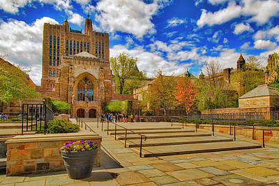 Photograph - Yale University Sterling Library II by Susan Candelario