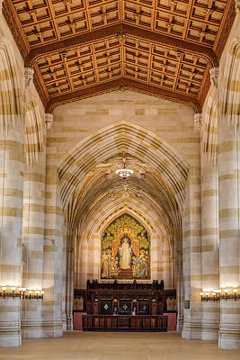 Photograph - Yale University Sterling Memorial Library by Susan Candelario