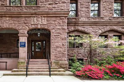 Photograph - Yale University Warner House by Susan Candelario