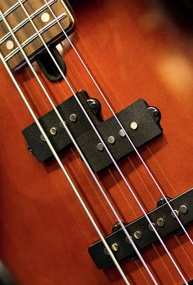 Photograph - Yamaha Electric Bass by Rospotte Photography