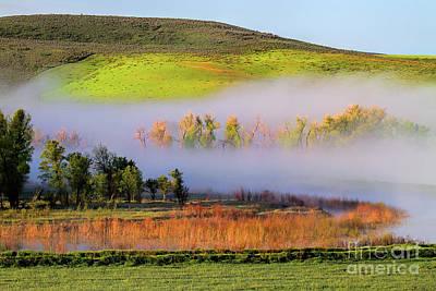 Photograph - Yampa Valley Morning by Jim Garrison