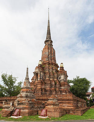 Photograph - Yanasen Temple Ayutthaya Thailand by Diego delso