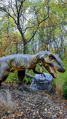 Photograph - Yangchuanosaurus by Manuel Matas