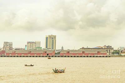 Photograph - Yangon Waterfront 1 by Werner Padarin