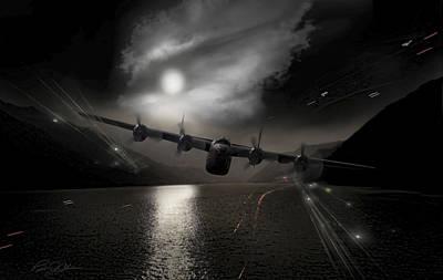 Raid Digital Art - Yangtze Gauntlet by Peter Chilelli