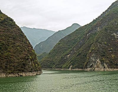 Photograph - Yangtze Gorge by T Guy Spencer