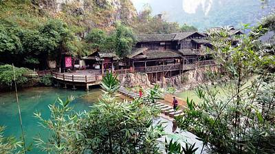 Photograph - Yangtze Village by Vicky Tarcau