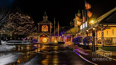 Photograph - Yankee Candle Village.south Deerfield, Massachusetts by New England Photography
