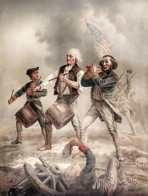 Photograph - Yankee Doodle 1776 by Rospotte Photography
