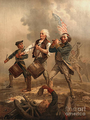 Yankee Doodle 1876 Print by Padre Art