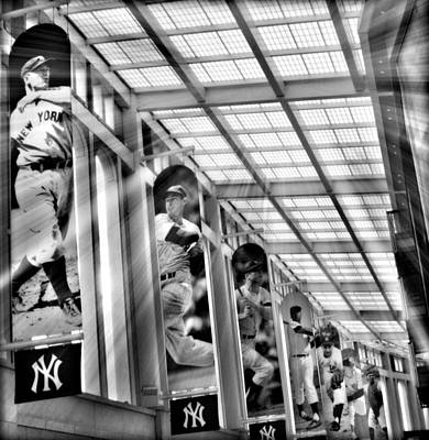 Yankee Stadium Digital Art - Yankee Immortals II by Aurelio Zucco