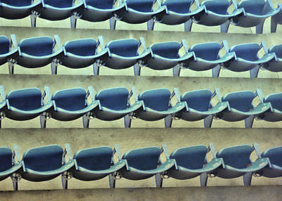 Yankee Stadium Bleachers Photograph - Yankee Seating by JAMART Photography