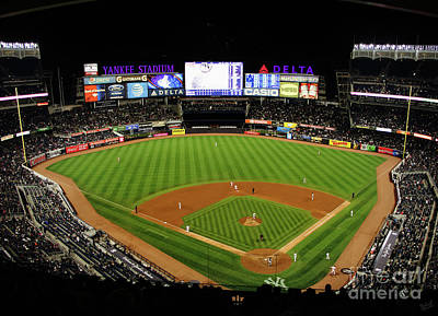 Athletes Royalty-Free and Rights-Managed Images - Yankee Stadium 1 by Nishanth Gopinathan