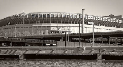 Yankee Stadium Bleachers Photograph - Yankee Stadium    1923  -  2008 by Daniel Hagerman