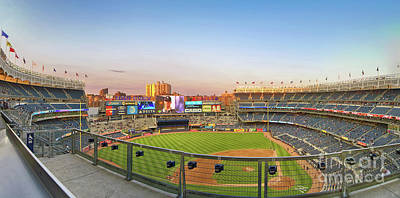 Athletes Royalty-Free and Rights-Managed Images - Yankee Stadium 2 by Nishanth Gopinathan