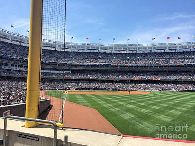 Yankee Stadium_right Field1 Art Print by All Island Promos