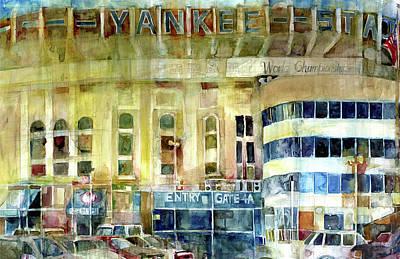 Yankee Stadium Original by Dorrie Rifkin