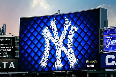 Photograph - Yankee Stadium Jumbotron II by Aurelio Zucco