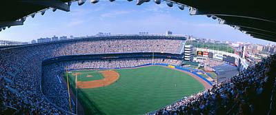 Pitching Photograph - Yankee Stadium Ny Yankees V. Tampa by Panoramic Images