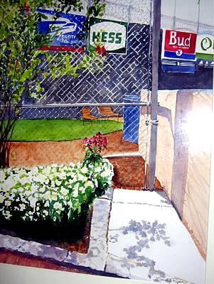 Yankee Stadium Painting - Yankee Stadium by Sandy Ryan